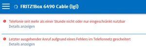 Kabel-BW offline