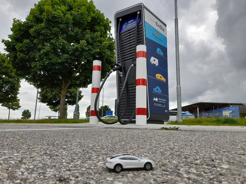 Langstrecke mit dem Elektroauto
